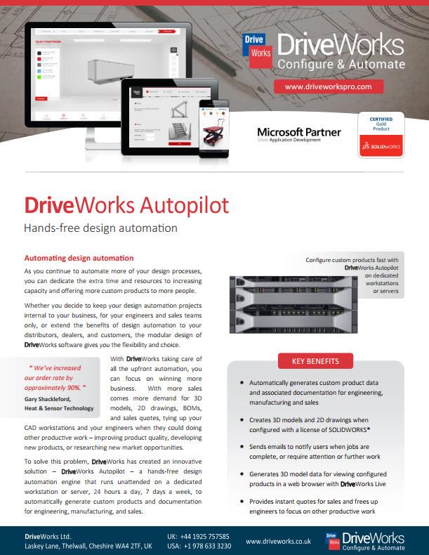 DriveWorksAutopilot