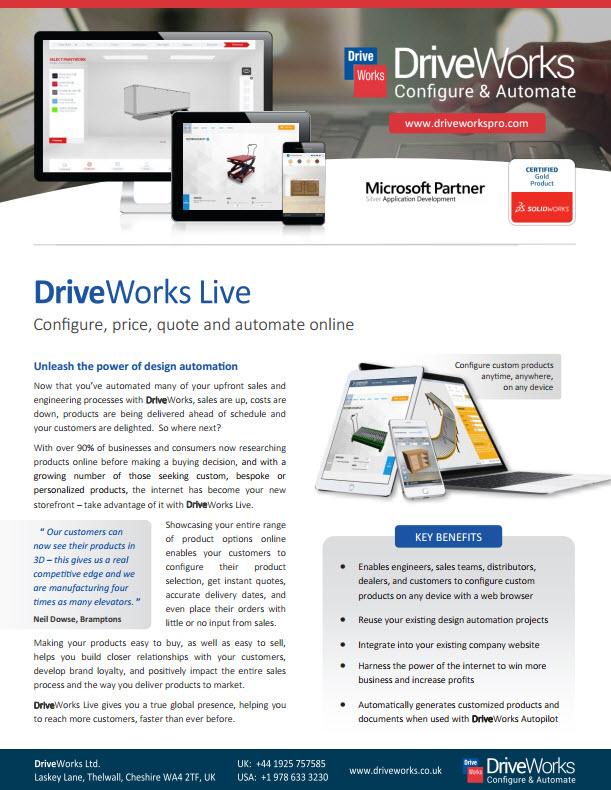 DriveWorksLive