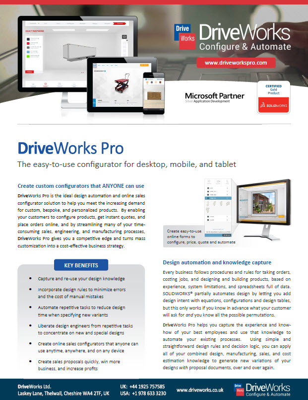 DriveWorksPro