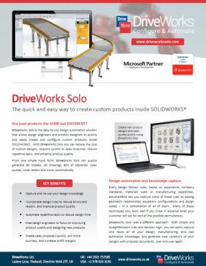 DriveWorksSoloDataSheet