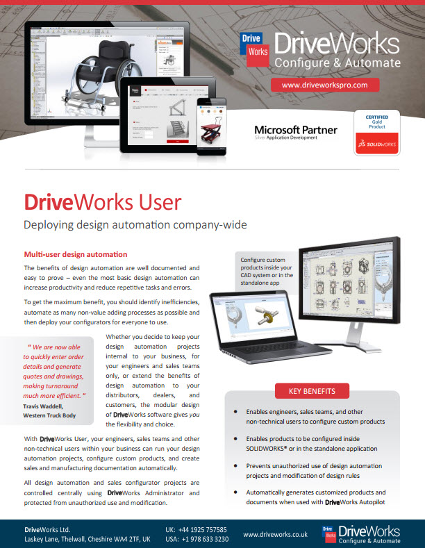 DriveWorksUser
