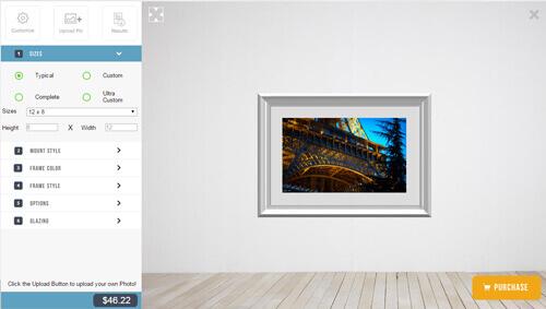 Picture Frame Configurator