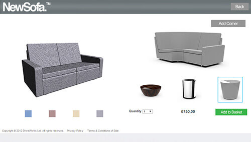 Sofa Configurator