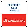 SolidWorks Gold Logo