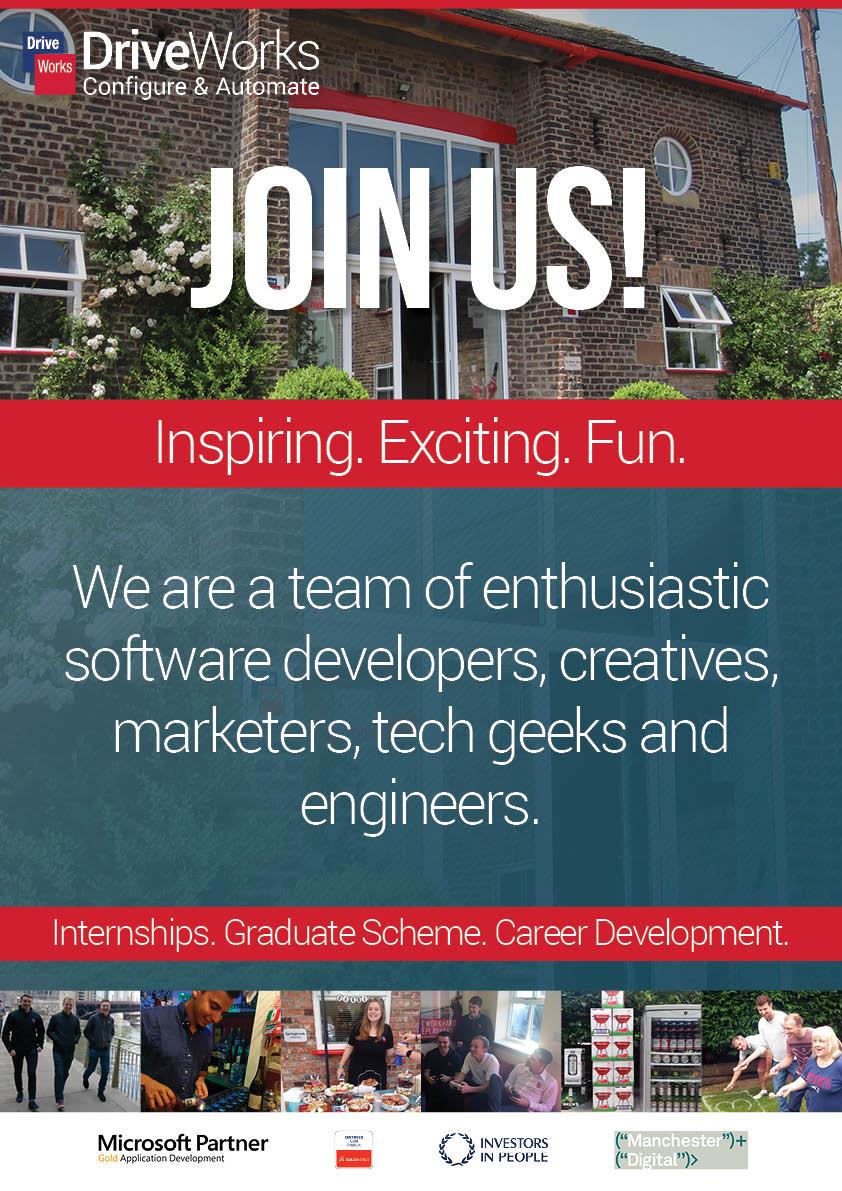 DriveWorks-RecruitmentBanner - Join Us