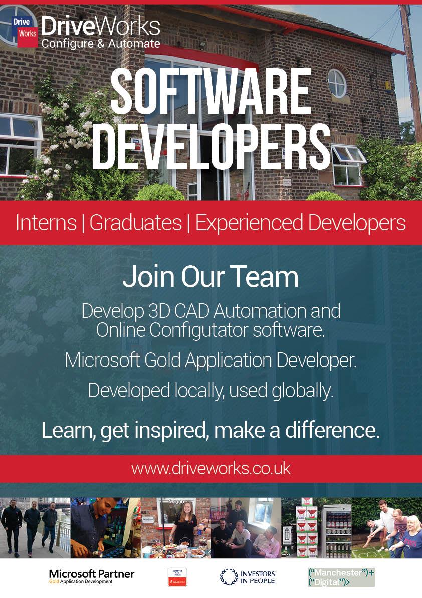 DriveWorks-RecruitmentBanner - Software Developers