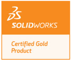 DriveWorks is a SolidWorks Certified Gold Partner