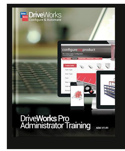 DriveWorks Pro Training