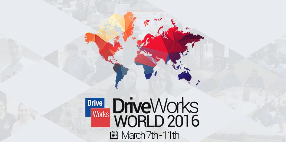 DriveWorks World 2016