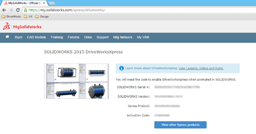 How to Activate DriveWorksXpress - Step 4
