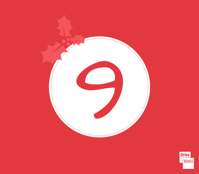 driveworks advent calendar - day 9