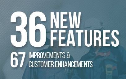 36 new features