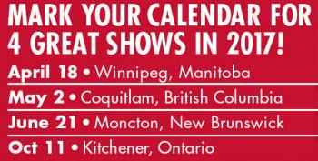 dex show dates