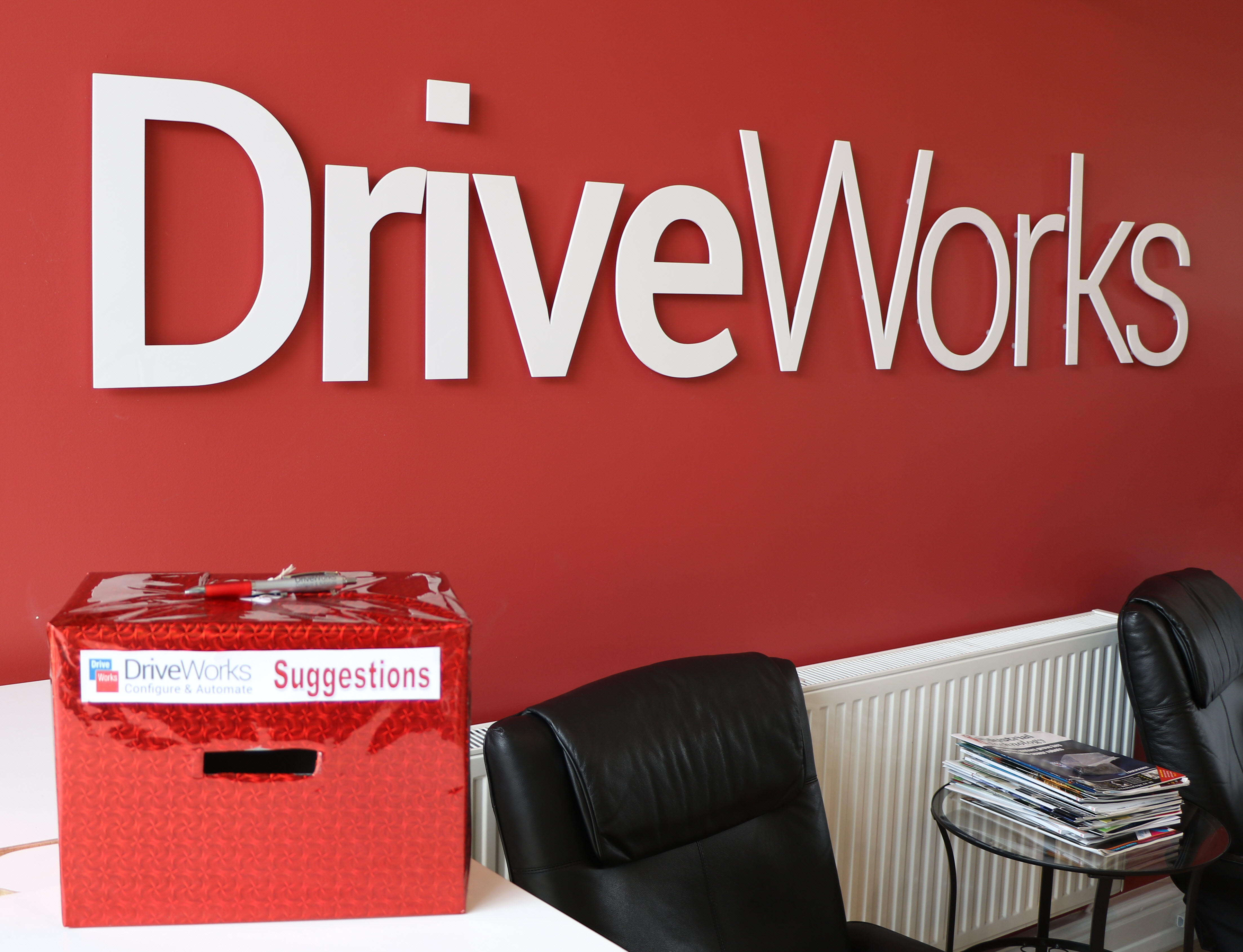 DriveWorksSuggestionBox
