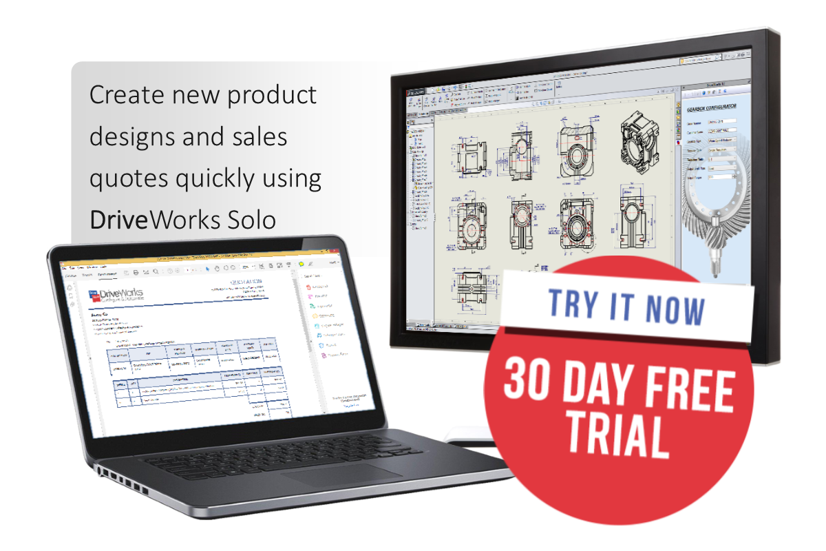 DriveWorks Solo 30 Day Free Trial - Padding