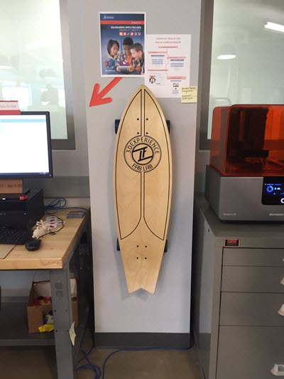 3d experience fab lab surfboard small