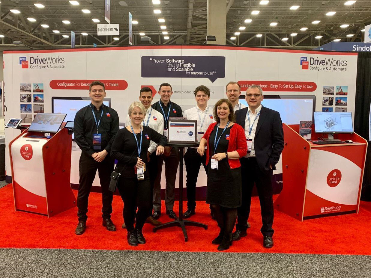 DriveWorks Team at SolidWorks World 2019