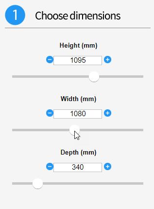 DriveWorks Form Control Examples - Slider Controls