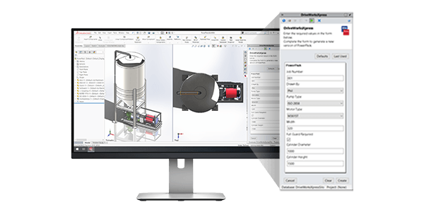 DriveWorksXpress - Free entry level design automation included in every seat of SOLIDWORKS. Upscale to DriveWorks Solo or DriveWorks Pro anytime.