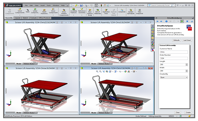 Driveworksxpress for Design table not working solidworks